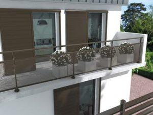 Garde-corps balcon